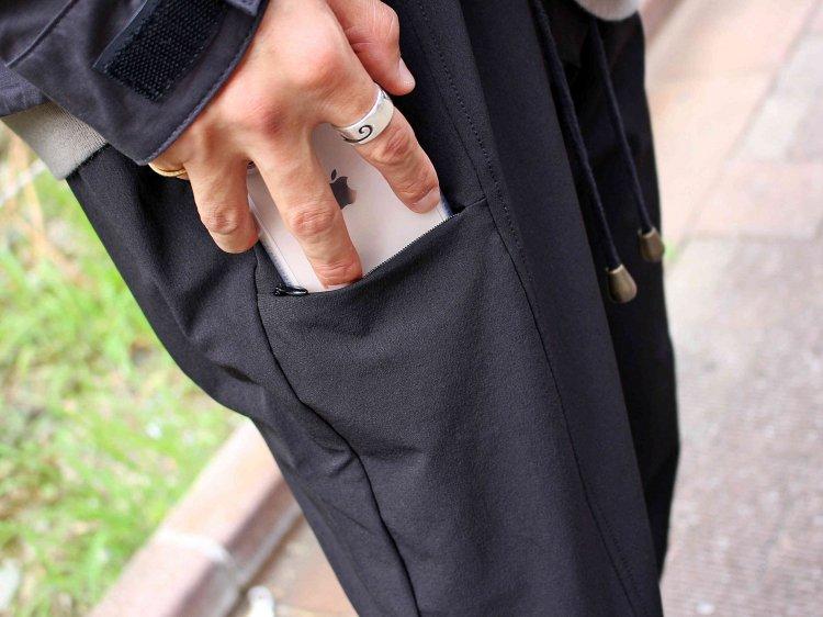 ionoi イオノイ JOLLY PANTS ジョリーパンツ (BLACK ブラック)