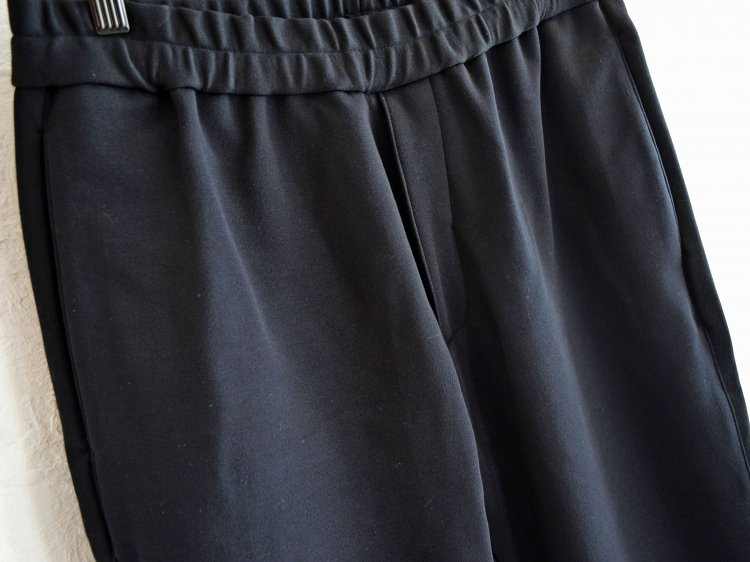 LAMOND ラモンド / AIR KNIT RELAX PANTS エアニットリラックスパンツ (BLACK ブラック)