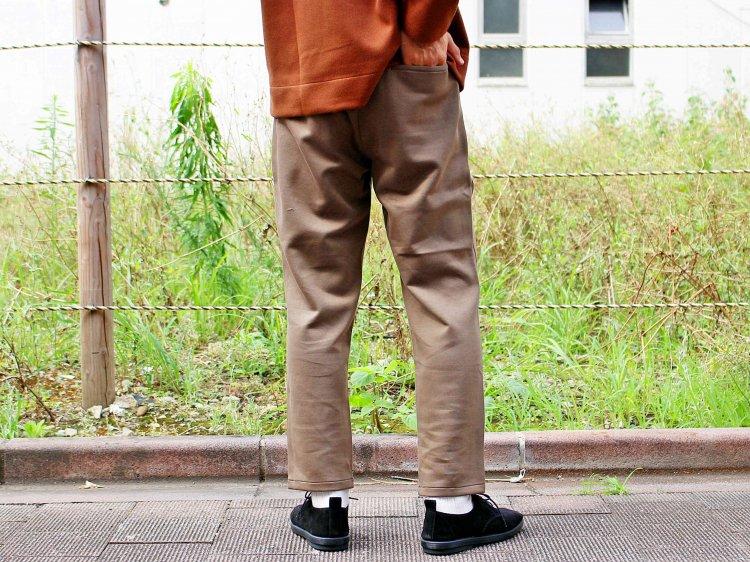 LAMOND ラモンド / AIR KNIT RELAX PANTS エアニットリラックスパンツ (MOCH モカ)