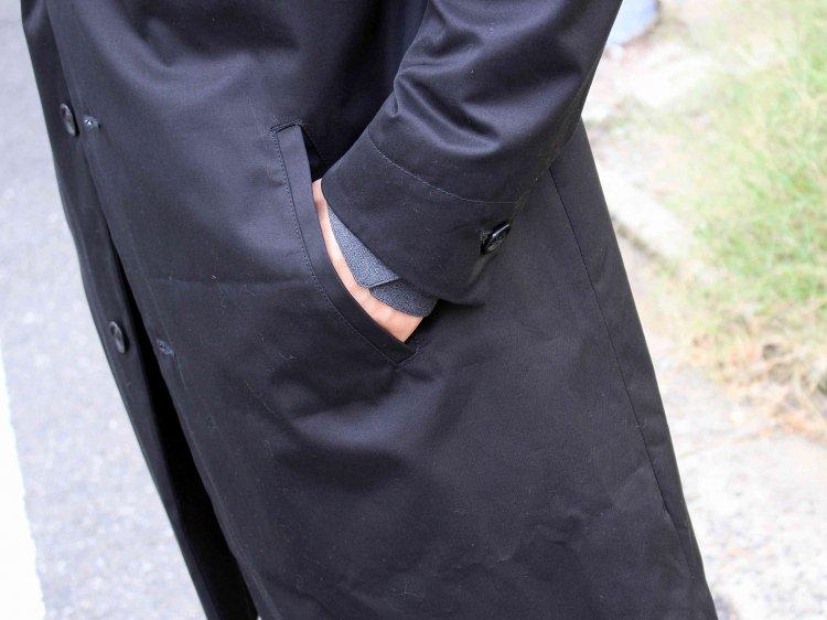 Nasngwam. ナスングワム / TUSCAN COAT タスカンコート (BLACK / ブラック)