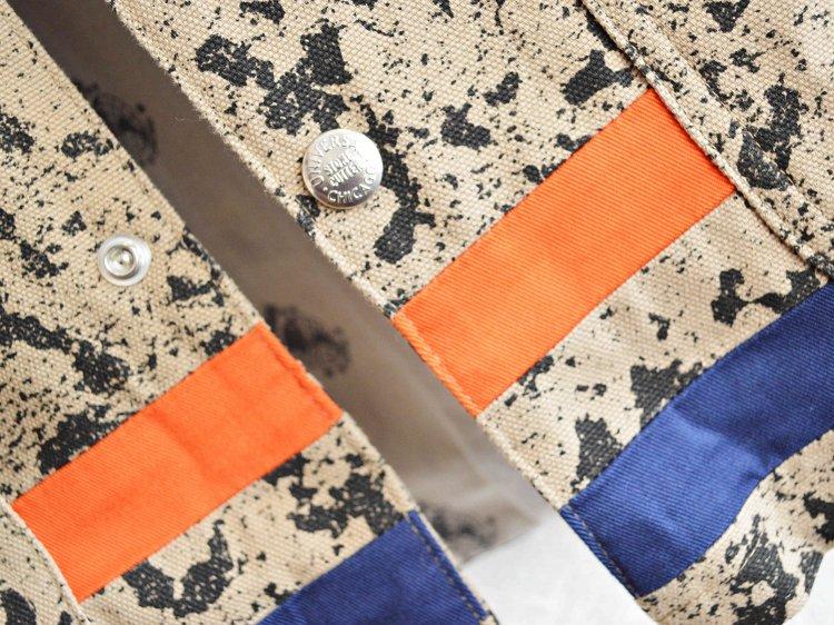UNIVERSAL OVERALL×ALDIES ユニバーサルオーバーオール×アールディ−ズ / Daydrums Coach jacket デイドラムスコーチジャケット (BEIGE / ベージュ)
