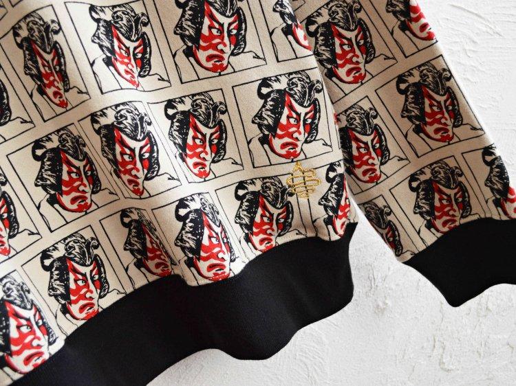 ALDIES アールディ−ズ / Kabuki Big Sweat カブキビックスウェット (NATULAL / ナチュラル)