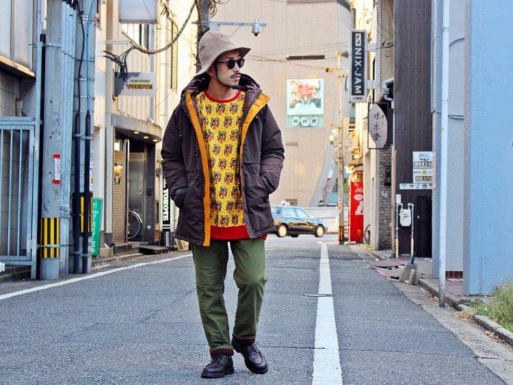 ALDIES アールディ−ズ / Kabuki Big Sweat カブキビックスウェット (YELLOW / イエロー)