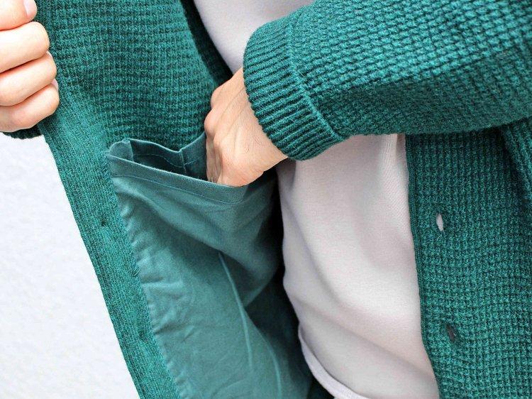 Nasngwam. ナスングワム / YARD CARDIGAN EX ヤードカーディガン (GREEN / グリーン)