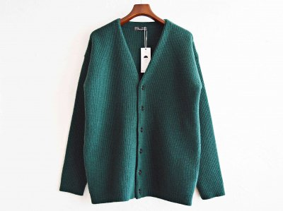 Nasngwam. ナスングワム / YARD CARDIGAN EX ヤードカーディガン (GREEN / グリーン)<img class='new_mark_img2' src='https://img.shop-pro.jp/img/new/icons1.gif' style='border:none;display:inline;margin:0px;padding:0px;width:auto;' />