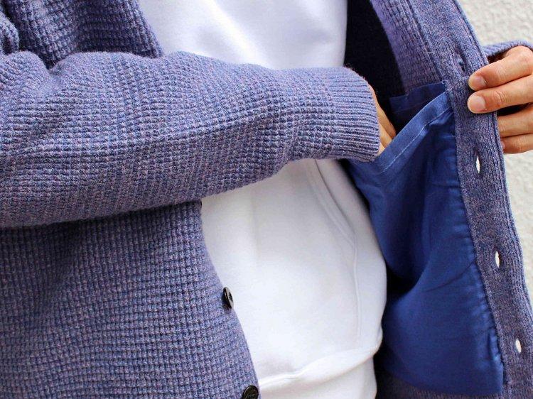 Nasngwam. ナスングワム / YARD CARDIGAN EX ヤードカーディガン (LAVENDER / ラベンダー)