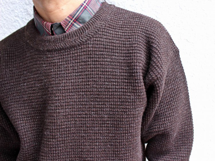 Nasngwam. ナスングワム / YARD SWEATER EX ヤードセーター (BROWN / ブラウン)<img class='new_mark_img2' src='https://img.shop-pro.jp/img/new/icons1.gif' style='border:none;display:inline;margin:0px;padding:0px;width:auto;' />