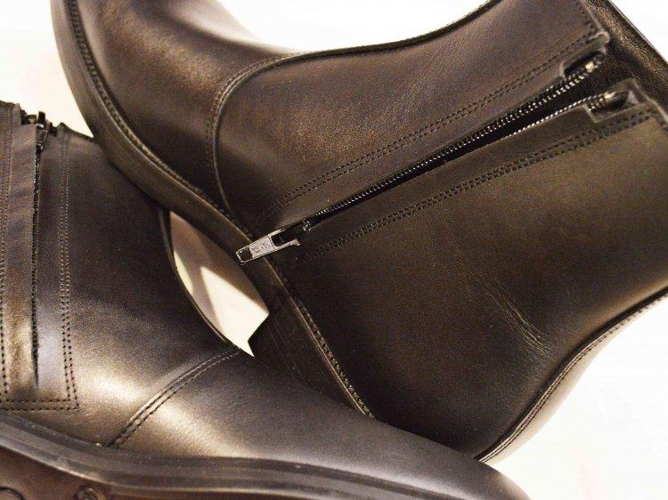 KLEMAN クレマン / ONAGRE オナーグル サイドジップショートブーツ  (BLACK / ブラック)