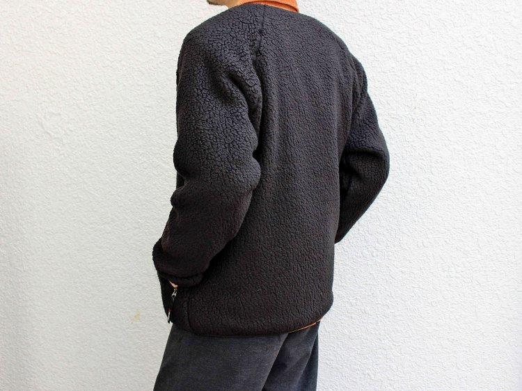 MOUNTAIN EQUIPMENT マウンテンイクイップメント Pile Fleece Cardigan パイルフリースカーディガン (BLACK / ブラック)