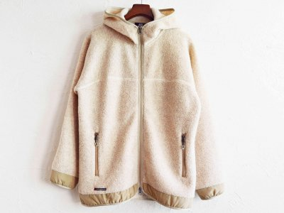 MOUNTAIN EQUIPMENT マウンテンイクイップメント / Wool Boa Hoodie ウールボアフーディー (LIGHT BEIGE / ライトベージュ)<img class='new_mark_img2' src='https://img.shop-pro.jp/img/new/icons1.gif' style='border:none;display:inline;margin:0px;padding:0px;width:auto;' />