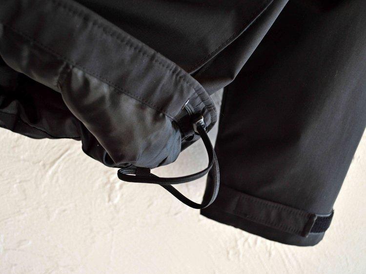 LAMOND ラモンド / WATER REPELLENT LIGHT DOWN JACKET ウォーターリペレントライトダウンジャケット (BLACK / ブラック)