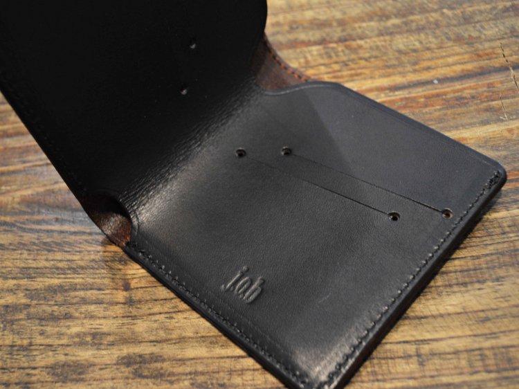 j.o.b ジェイオービー / Butterfly バタフライ 薄型ウォレット マネークリップ (BLACK / ブラック)