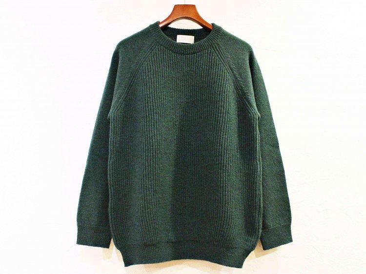 soglia ソリア / LERWICK Sweater ラーウィックセーター (GREEN / グリーン)