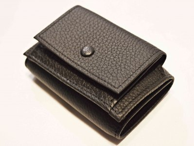 ITUAIS イトゥアイス / COMPACT WALLET コンパクトウォレット (NOIR / BLACK ブラック)<img class='new_mark_img2' src='https://img.shop-pro.jp/img/new/icons1.gif' style='border:none;display:inline;margin:0px;padding:0px;width:auto;' />