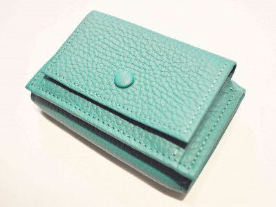 ITUAIS イトゥアイス / COMPACT WALLET コンパクトウォレット (VERT JADE / GREEN グリーン)<img class='new_mark_img2' src='https://img.shop-pro.jp/img/new/icons1.gif' style='border:none;display:inline;margin:0px;padding:0px;width:auto;' />