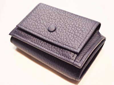 ITUAIS イトゥアイス / COMPACT WALLET コンパクトウォレット (BLUE ENCRE / BLUE PURPLE ブルーパープル)<img class='new_mark_img2' src='https://img.shop-pro.jp/img/new/icons1.gif' style='border:none;display:inline;margin:0px;padding:0px;width:auto;' />