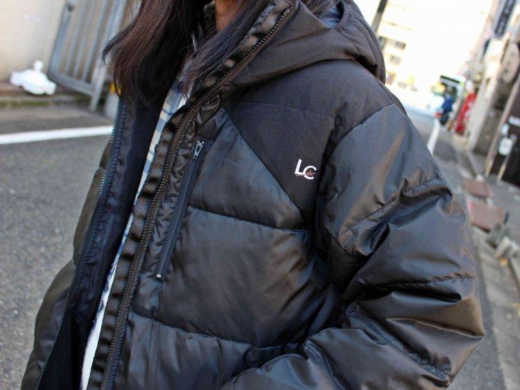 LAST CHANCE ラストチャンス / EXTREME HOOD JACKET エクストリームフードジャケット (BLACK×BLACK ブラック×イエロー)