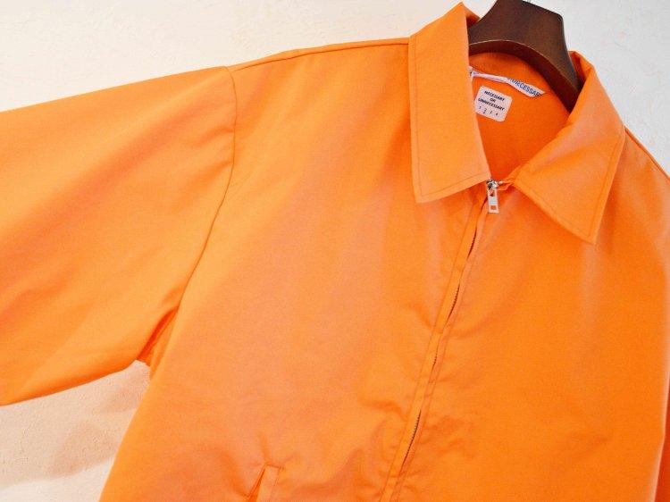 necessary or unnecessary ネセサリーオアアンネセサリー / UNIFORM TOP ユニフォームトップ (ORANGE オレンジ)