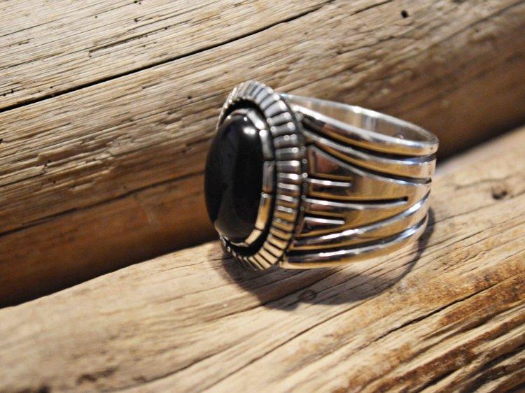 Indian jewelry インディアンジュエリー / Navajo RING ナヴァホリング( Cooper Willie クーパー ウィリー)