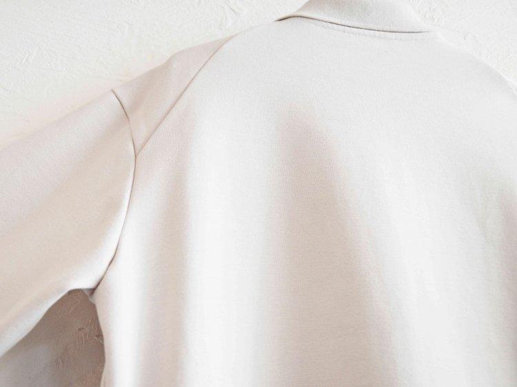 LAMOND ラモンド / MILANO RIB JACKET ミラノリブジャケット (LIGHT GRAY ライトグレー)