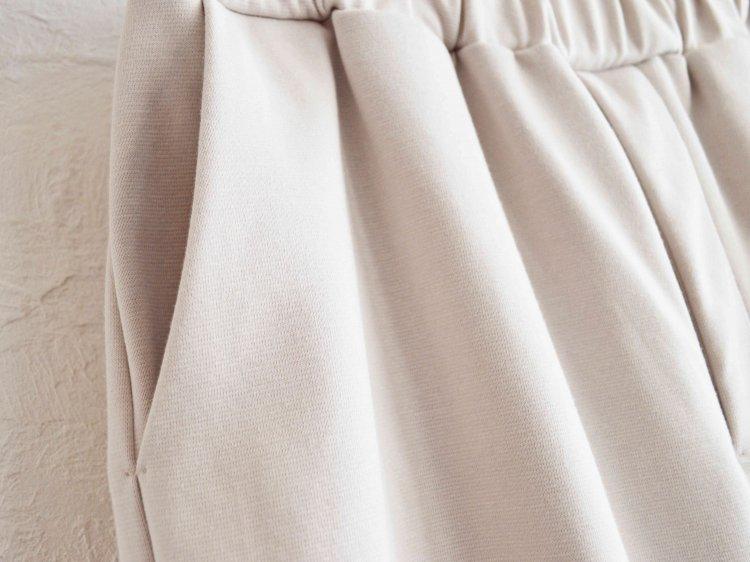 LAMOND ラモンド / MILANO RIB PANTS ミラノリブパンツ (LIGHT GRAY ライトグレー)
