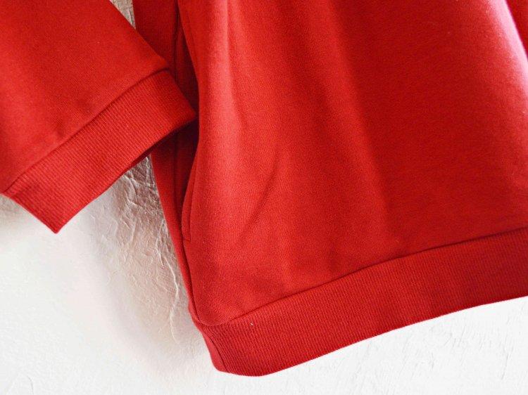 SPINNER BAIT スピナーベイト / ミニ裏毛リブクルー (RED レッド)