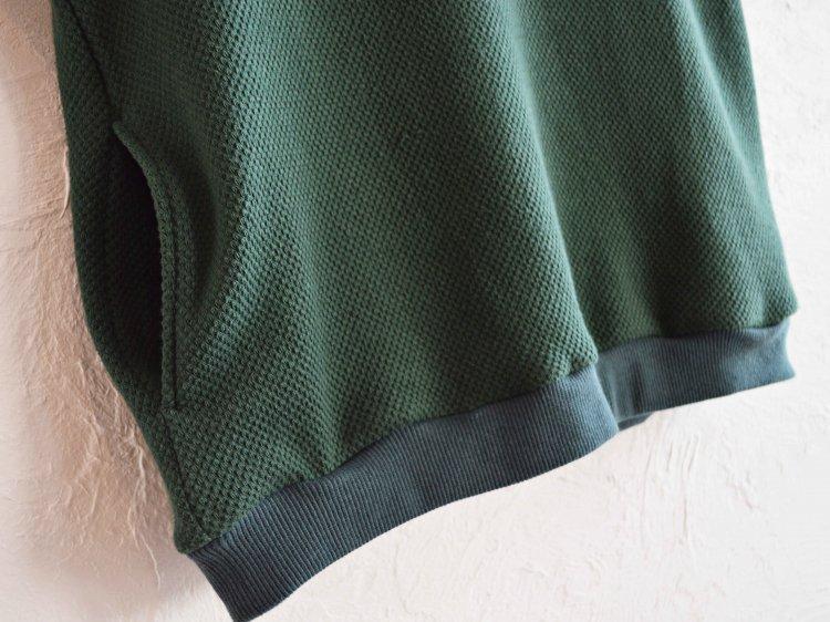 SPINNER BAIT スピナーベイト / ローゲージストレッチカノコWフェイスベスト (GREEN グリーン)