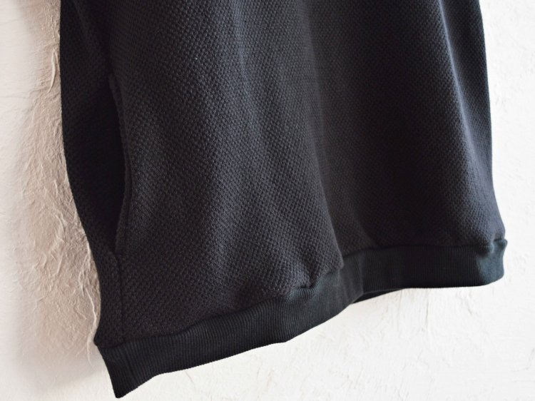 SPINNER BAIT スピナーベイト / ローゲージストレッチカノコWフェイスベスト (BLACK ブラック)