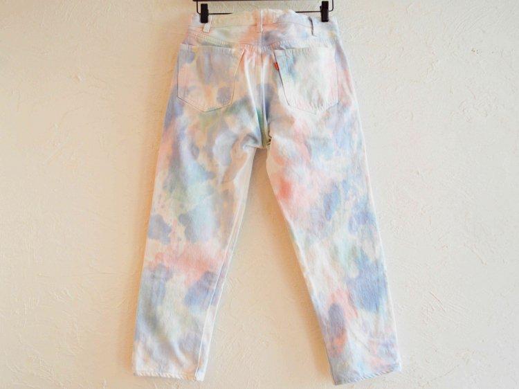 SUNNY SIDE UP サニーサイドアップ / Collor camo Denim pants カラーカモデニムパンツ (CAMO / カモ)