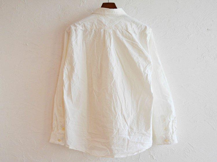SPINNERBAIT スピナーベイト / 馬布ヴィンテージフィニッシュオグリシャツ (WHITE ホワイト)
