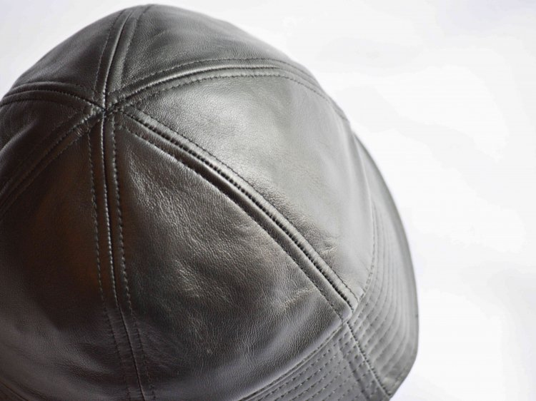 Winner Caps ウィナーキャップ / SAILOR HAT セーラーハット  (LEATHER BLACK レザーブラック)<img class='new_mark_img2' src='https://img.shop-pro.jp/img/new/icons1.gif' style='border:none;display:inline;margin:0px;padding:0px;width:auto;' />