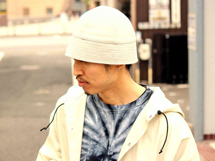 Winner Caps ウィナーキャップ / SAILOR HAT セーラーハット  (SUEDE GREY スエードグレー)<img class='new_mark_img2' src='https://img.shop-pro.jp/img/new/icons1.gif' style='border:none;display:inline;margin:0px;padding:0px;width:auto;' />