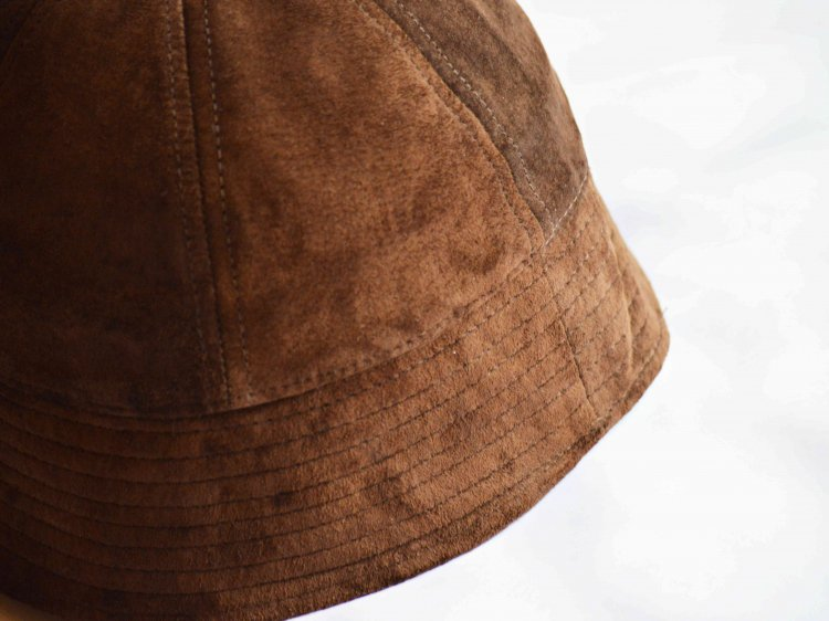 Winner Caps ウィナーキャップ / SAILOR HAT セーラーハット  (SUEDE BROWN スエードブラウン)<img class='new_mark_img2' src='https://img.shop-pro.jp/img/new/icons1.gif' style='border:none;display:inline;margin:0px;padding:0px;width:auto;' />