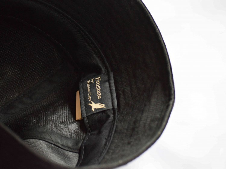 Winner Caps ウィナーキャップ / SAILOR HAT セーラーハット  (SUEDE BLACK スエードブラック)<img class='new_mark_img2' src='https://img.shop-pro.jp/img/new/icons1.gif' style='border:none;display:inline;margin:0px;padding:0px;width:auto;' />