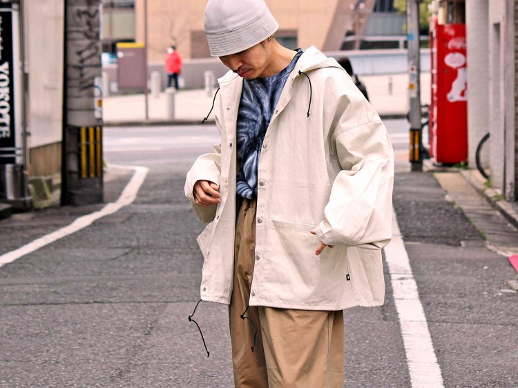 MOUNTAIN EQUIPMENT マウンテンイクイップメント / FIRE RISISTANT PARKA ファイヤーレジスタントパーカー (LT.BEIGE ライトベージュ) <img class='new_mark_img2' src='https://img.shop-pro.jp/img/new/icons1.gif' style='border:none;display:inline;margin:0px;padding:0px;width:auto;' />