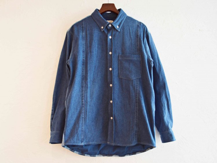 Nasngwam. ナスングワム / LONE STAR SHIRTS  ロンスターシャツ (DENIM デニム)