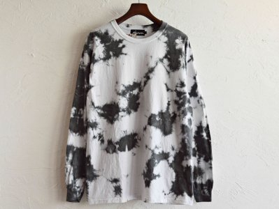 Nasngwam. ナスングワム / EARTH L/S TEE アースロンTEE (SUMI スミ 墨) <img class='new_mark_img2' src='https://img.shop-pro.jp/img/new/icons1.gif' style='border:none;display:inline;margin:0px;padding:0px;width:auto;' />