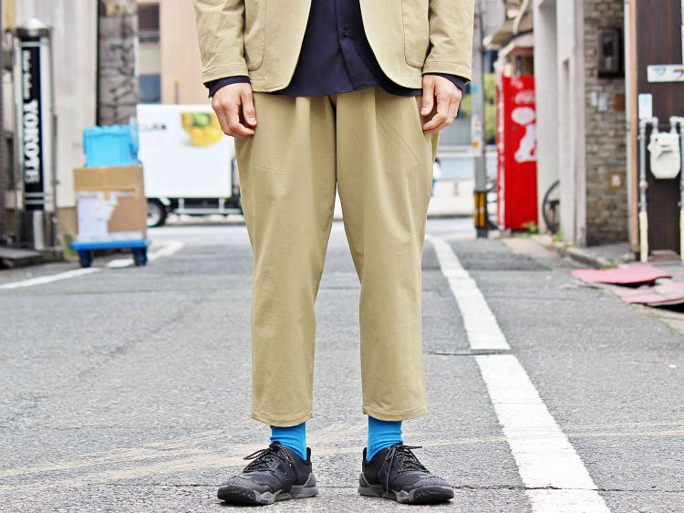 MOUNTAIN EQUIPMENT マウンテンイクィップメント / Tech Pants テックパンツ (BEIGE ベージュ) <img class='new_mark_img2' src='https://img.shop-pro.jp/img/new/icons1.gif' style='border:none;display:inline;margin:0px;padding:0px;width:auto;' />