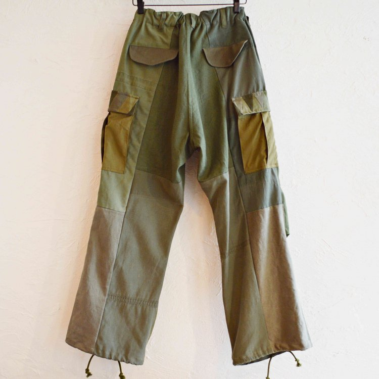 Nasngwam. ナスングワム / BARBALIAN PANTS バーバリアンパンツ (OLIVE オリーブ)<img class='new_mark_img2' src='https://img.shop-pro.jp/img/new/icons1.gif' style='border:none;display:inline;margin:0px;padding:0px;width:auto;' />