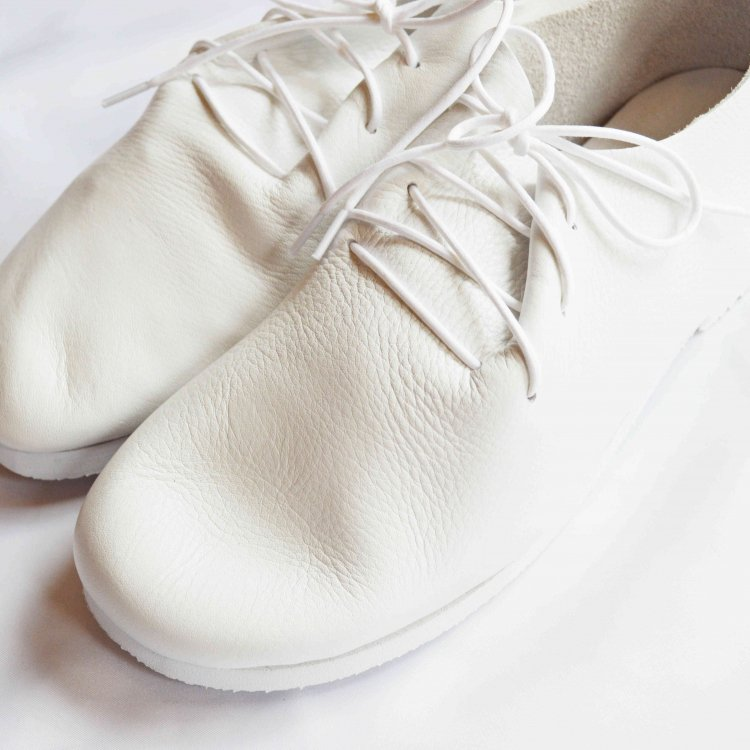 KOJIMA SHOE MAKERS レザーシューズ / KEATON  キートン (WHITE ホワイト)