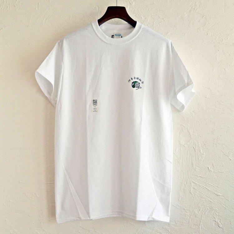 MODem DELi モデムデリ /  S/S TEE Tシャツ (WHITE ホワイト)
