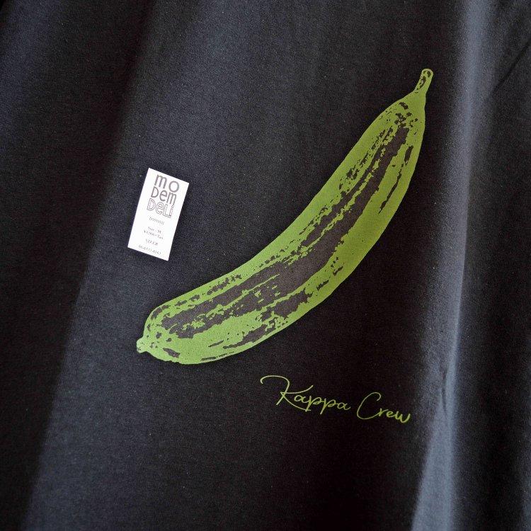 MODem DELi モデムデリ /  S/S TEE Tシャツ (BLACK ブラック)