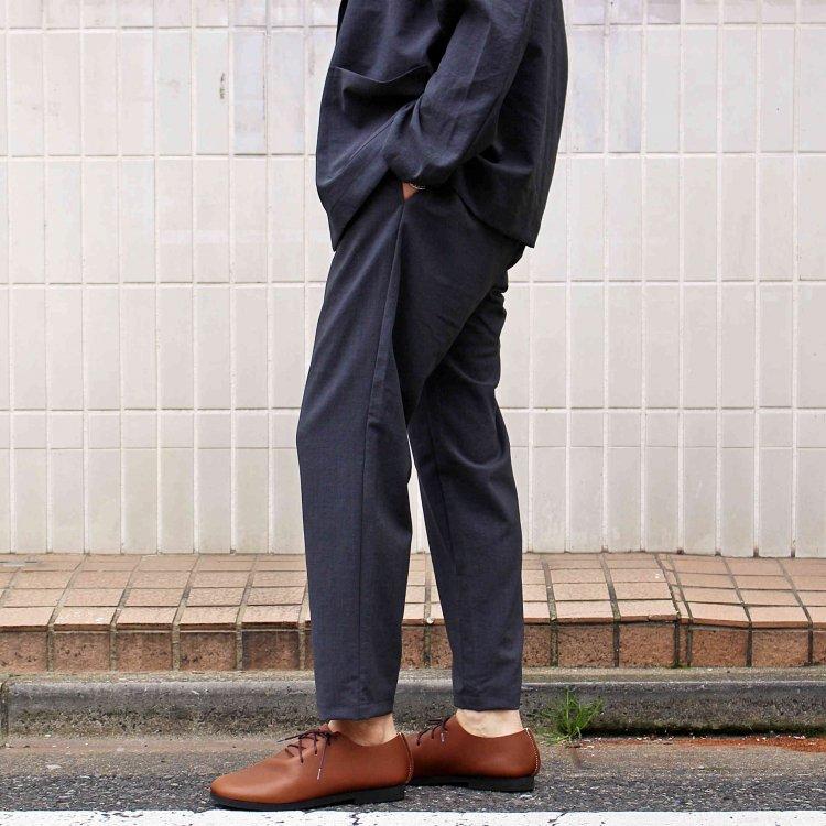 LAMOND ラモンド / SHARI PANTS シャリパンツ (CHAMBRAY BLACK シャンブレーブラック)