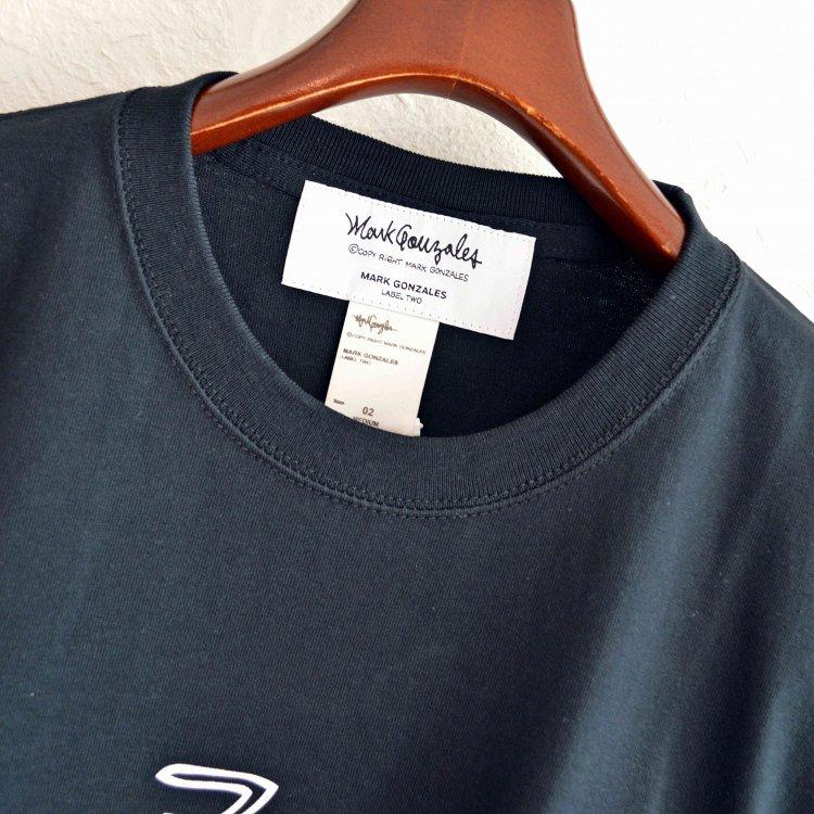 Mark Gonzales マークゴンザレス / Pocket Heavy Tee ポケットヘビーTシャツ (BLACK ブラック)