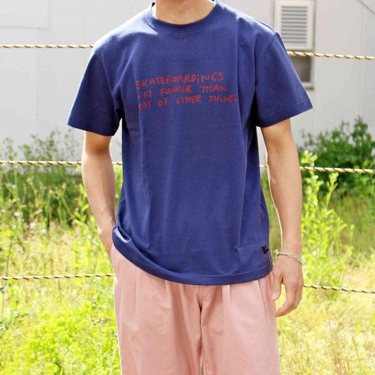 Mark Gonzales マークゴンザレス / Tee Tシャツ (INDIGO インディゴ)