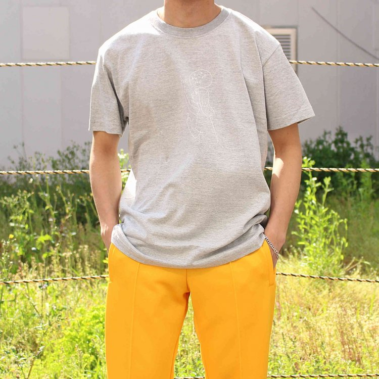 Mark Gonzales マークゴンザレス / Tee Tシャツ (GRAY グレー)