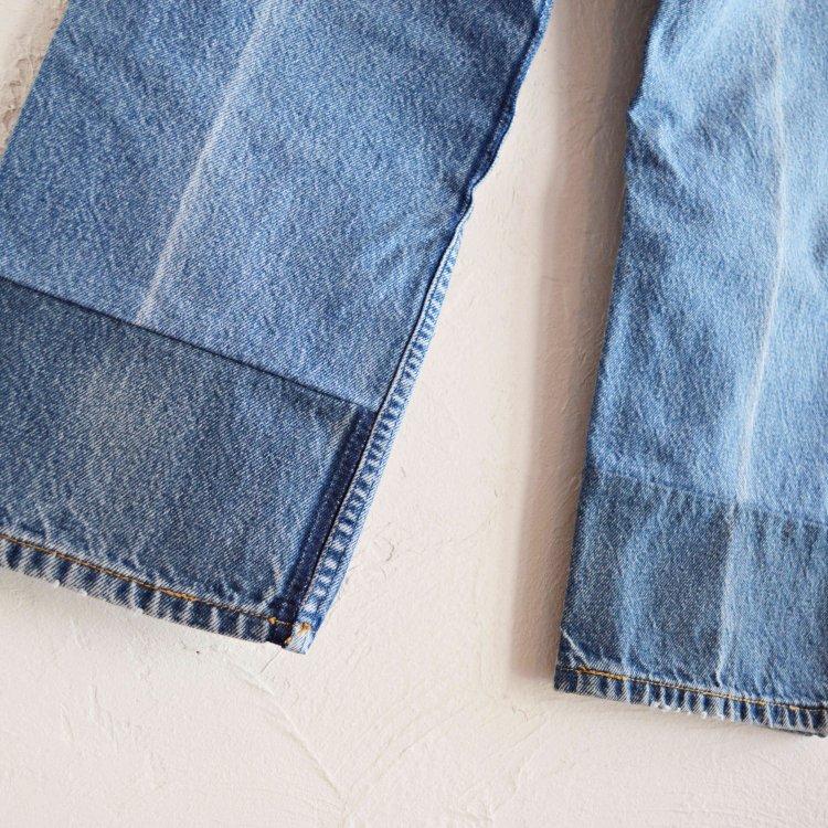 SUNNY SIDE UP サニーサイドアップ / KNEE SAND Denim pants 二—サンドデニムパンツ (BLUE ブルー)