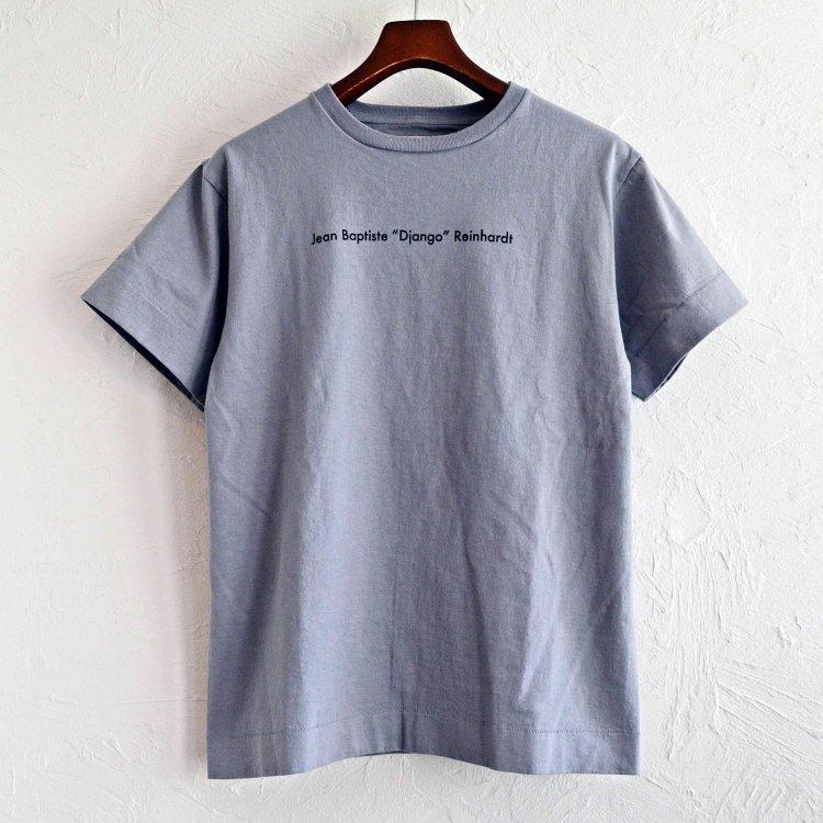 necessary or unnecessary ネセサリーオアアンネセサリー / Django ジャンゴ Tシャツ (GRAY グレー)