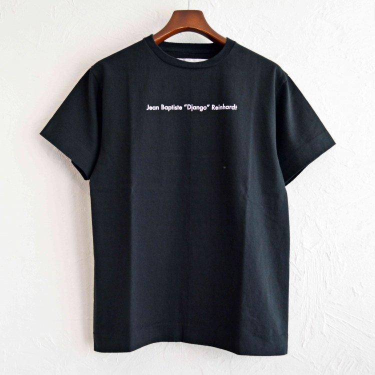 necessary or unnecessary ネセサリーオアアンネセサリー / Django ジャンゴ Tシャツ (BLACK ブラック)
