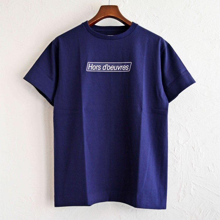 necessary or unnecessary ネセサリーオアアンネセサリー / Hors d'oeuvres オードブル 前菜 Tシャツ (NAVY ネイビー)